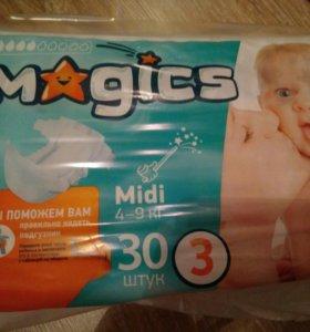 Подгузники magics 3