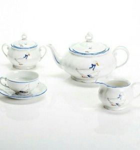 Чайный сервиз «Гуси» Чехия