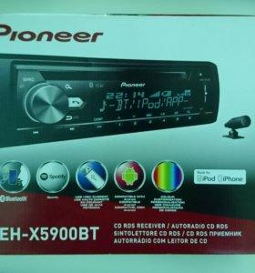 Магнитола Pioneer DEH-X5900BT