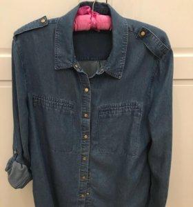Джинсовая рубашка Juicy Couture