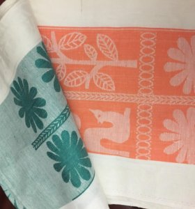 Кухонные полотенца льняные