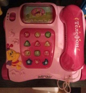игрушечный музыкальный телефон