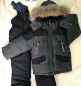 Детский зимний костюм новый