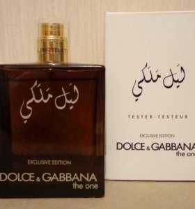 "Тестер "" DOLCE & GABBANA "" "" THE ONE. EXCLUSIVE """