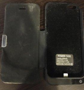 Зарядное  беспроводное устройство  для айфона 5s