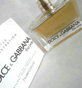 Тестер дамского парфюма D&G the one