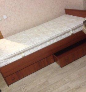 Кровать одна сп