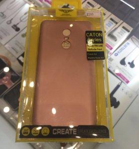Чехол (силикон) Xiaomi Note 4X розовый