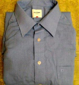 Рубашка мужская, с длинным рукавом р.52-54