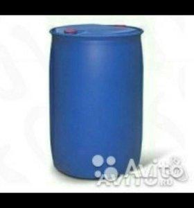 Бочка пластиковая 200 литров б.у