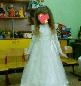 Новогоднее бальное платье