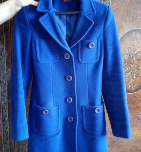 Пальто драповое шерсть elis