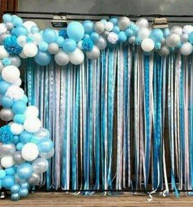Фотозоны.Баннеры.воздушные шары