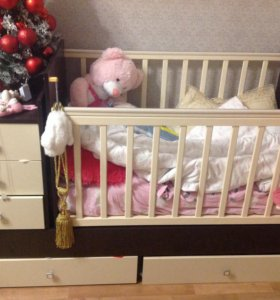 Кровать детская почти новая