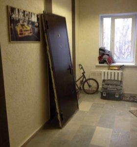 Установка входных(железных) дверей