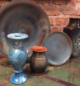 Таволжская керамика с изумрудной глазурью