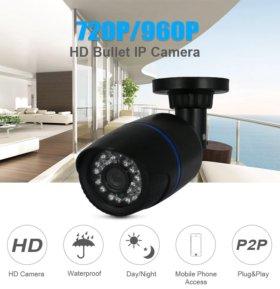 Проводная IP камера новая