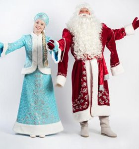 Дед Мороз и Снегурочка на дом, в школу, в садик