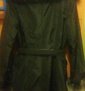 Пальто коллекция. 2 в 1.р44.