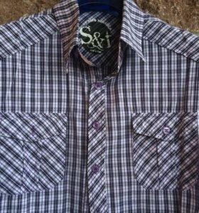 Рубашки для мальчика 12-13 лет