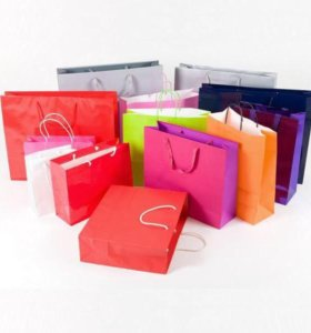 5 пакетов с одеждой
