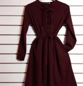 Платье в чёрном цвете