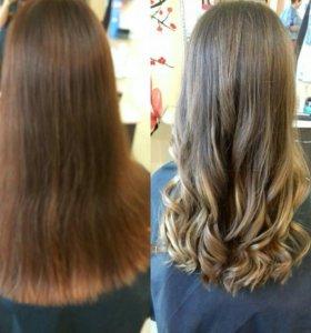 Окрашивание волос/полировка волос