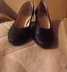 Туфли(новые) кожаные