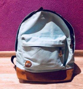 Рюкзак для девочки, голубой, Mi pac