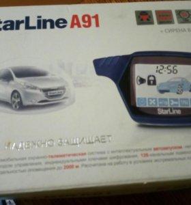 Сигнализация StarLine с автозапуском