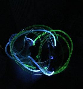 Футболки светящиеся и шнурки