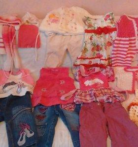 Вещи для девочки пакетом