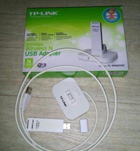 Wi-Fi адаптер TP-LINK TL-WN821N  300 Мбит/с