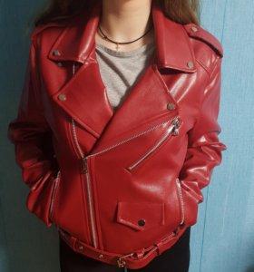 Куртка под Zara совсем новая.