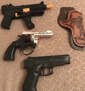 Пистолеты с кобурой