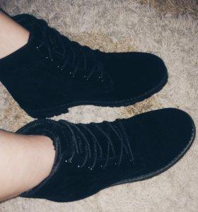 Ботинки новые тёплые