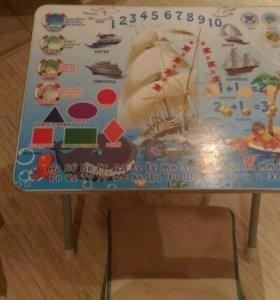 "Детский стол и стул ""Кораблик"""
