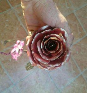 Роза Холодная ковка