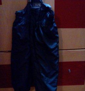 Куртка и полукомбез зима 86-92