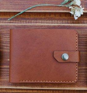 Кожаный кошелек от мастерской LEDO