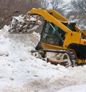 Вывоз снега спецтехника