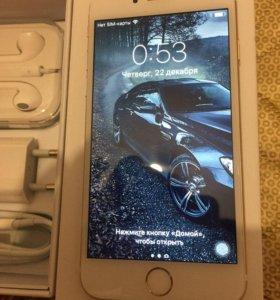 Айфон 6, 64 Золотой без Touch ID как Новый