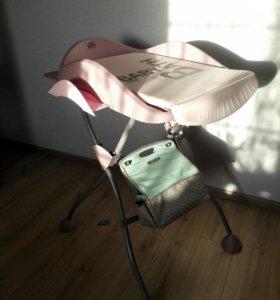 Пеленальный столик+сумка beabe