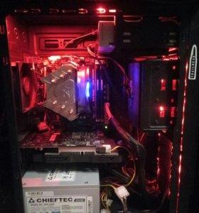 Собранный компьютер