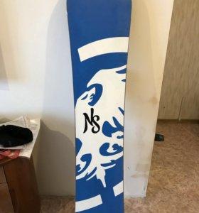 Сноуборд новый!