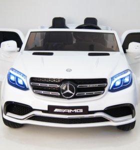 электромобиль Mercedes-Benz GLS-63 AMG 4Matic-WHIT