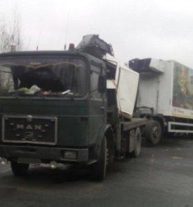 Эвакуатор грузовой MAN 19