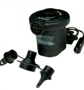 Электрический насос Интекс от прикуривателя
