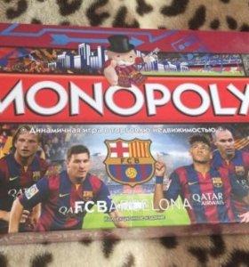 Настольная игра монополия(ФК Барселона)