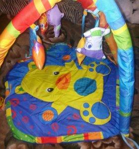 Развивающиий коврик для малышей.